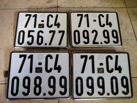Kiểm tra và xem ý nghĩa các biển số xe đẹp hợp tuổi